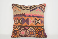 Kilim Cushion Covers NZ A00078 24x24 Moroccan Flat Retail Southwest