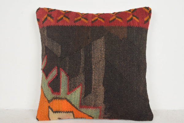 Kilim Rug Repair Pillow B00178 20x20 Sale Large Regular Knitted