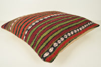Kilim Pillows from Turkey A00979 24x24 Bench Shabby Chic Cottage