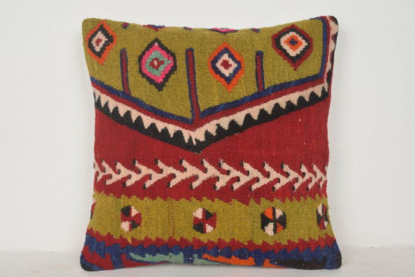 Turkish Rugs Seattle Pillow B00780 20x20 Hellenistic Chair Kelim