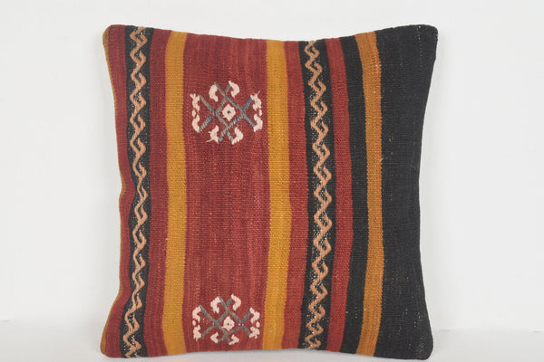 Kilim Pillow Covers on Sale D00608 16x16 Handwork Christmas Strong
