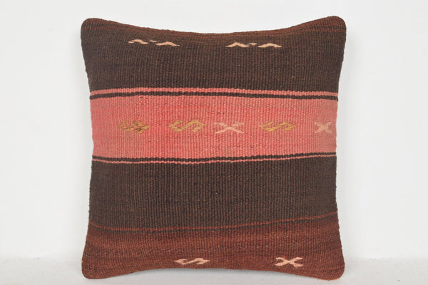 Turkish Pillows Wholesale D00581 16x16 Geographical Mid century Right