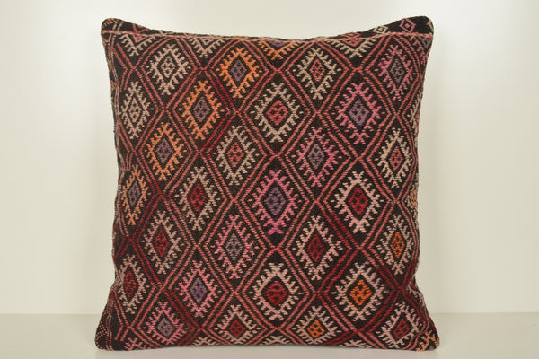 Turkish Carpet Pillow Covers A00881 24x24 Unique Bright Society Cottage