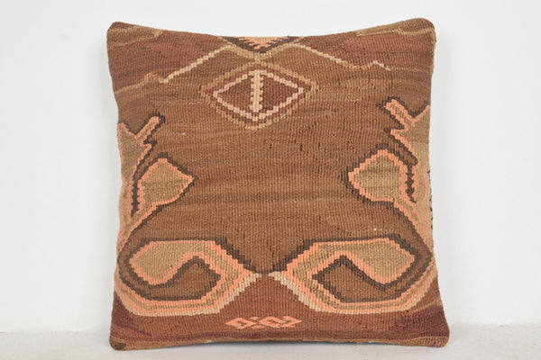 Benita Kilim Rug Pillow B00182 20x20 Wall Covering Pattern