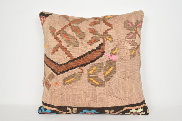 Turkish Kilim Pillow Covers A00183 24x24 Room Euro Collection Big