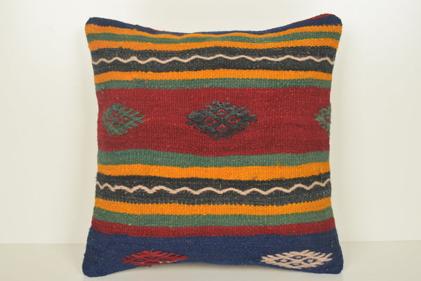 Kilim King Pillowcase C00884 18x18 Victorian Throw Handwoven