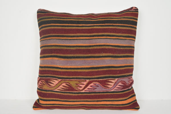 Kilim Pillow Covers Istanbul A00684 24x24 European Design House