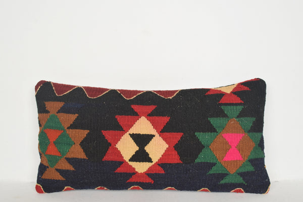 Turkish Rug NYC Pillow F00586 Lumbar Handmade Low-priced Mexican