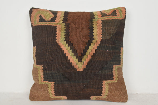 Aztec Kilim Pillow B00486 20x20 Embroidery Hellenistic Historic