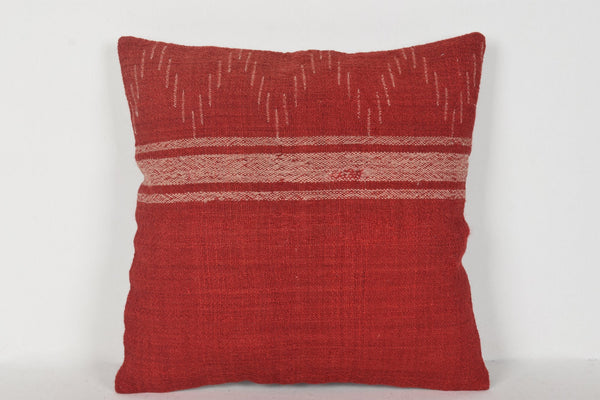 Red Turkish Pillows D00386 16x16 Professional Classic Pretty
