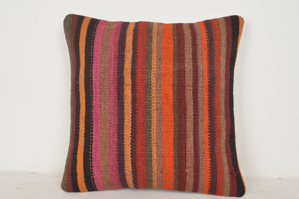 Amazon Kilim Pillow C00787 18x18 Modern Anatolian Primary