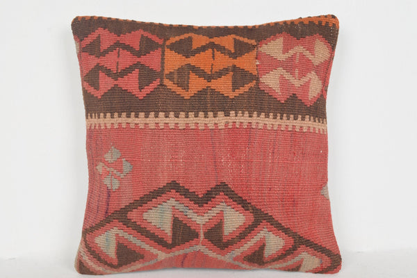 Navy Kilim Pillow D00987 16x16 Nautical Needlework Artist