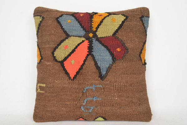 Turkish Kilim Pillows C00188 18x18 Celtic Big Accessory
