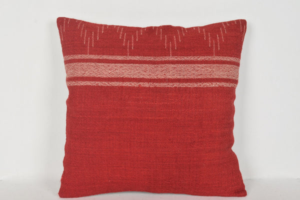 Kilim Indoor Throw Pillows D00389 16x16 Fragment Native Rustic