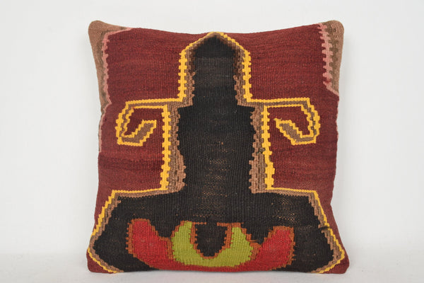 Kilim Pillow Ebay C00192 18x18 Decor Gypsy National