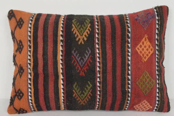 Kilim Pillow Covers 16x24 E00592 Lumbar Furnishing Cottage Tropical