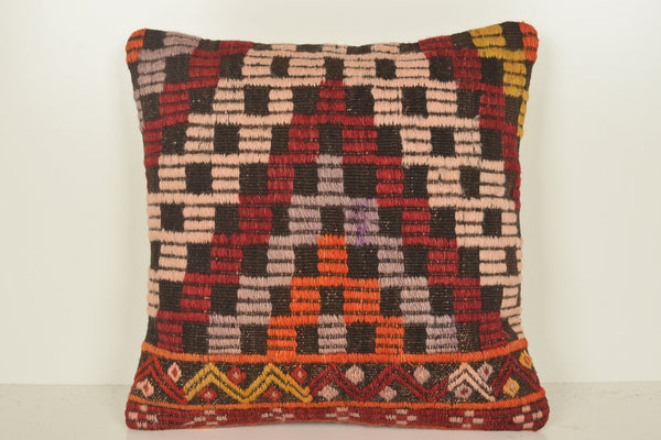 Kilim Pillow Covers 18x18 C01093 18x18 House Ornament Hotel