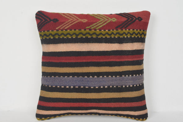 D00203 Hellenistic Knitting Pillow Euro Sham Mexican Bench Prehistoric