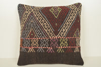 Kilim Pillows Anatolian C01494 18x18 Asian Luxury Neutral Casual Bench