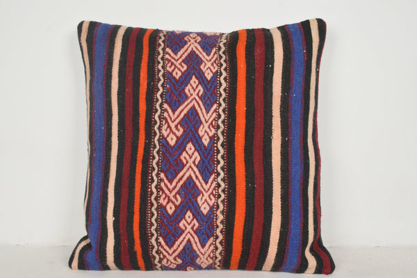 Kilim Pillow Fabric A00595 24x24 Designer Victorian Accessory