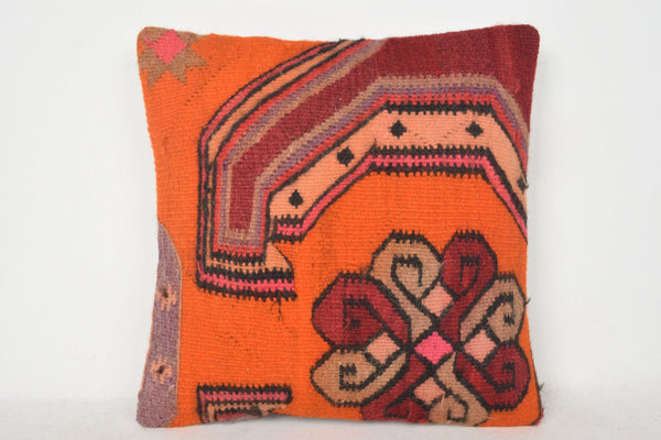 Purple Kilim Rug Pillow C00295 18x18 Room Embellishing Accents