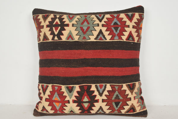 Neutral Kilim Pillows A00597 24x24 Bohemian Lifestyle Best Handwork