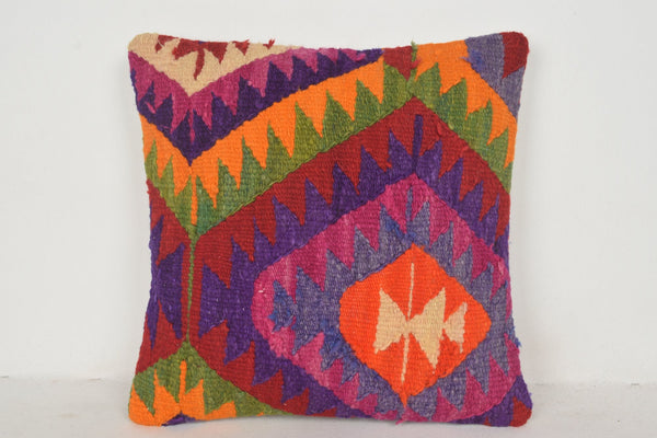 Turkish Cushion Covers NZ C00597 18x18 Needlepoint Pouf Native