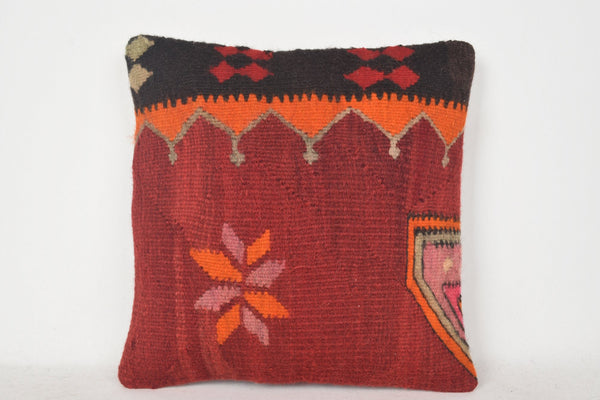 Kilim Accent Pillows C00398 18x18 Knitted Shabby chic Throw