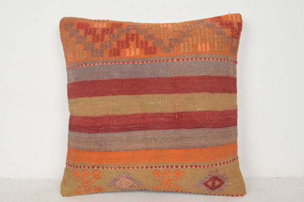 Kilim Floor Rugs Pillow B01498 20x20 Organic Couch Bedding