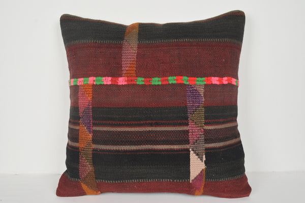 Kilim Cushion Australia A00699 24x24 Decor Handwork Beautiful Chair