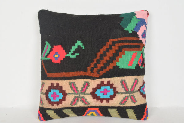 Kilim Rugs Online Australia Pillow D00799 16x16 Special Bench