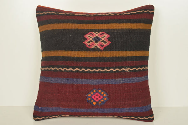 Kilim Cushions Wholesale C00899 18x18 Woven Folkloric Modernistic