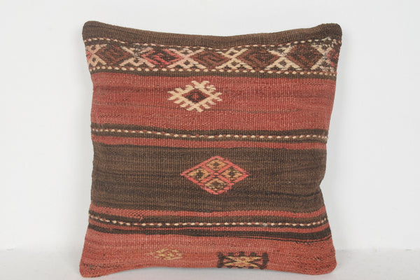 Kilim Rugs Victoria BC Pillow D00710 16x16 Tapestry Woollen