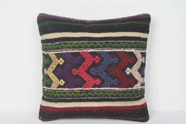 Turkish Urban Kilim Pillow Wholesale Vintage House Sham Woven Comfort Soft Woolen Embroidery Bright