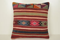 Turkish Rug Boston Pillow B02102 20x20 Artist Model Woven