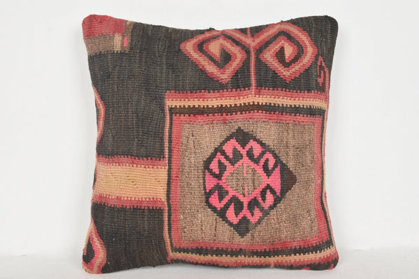 Boho Reading Pillow D01006 16x16 Regular Rug Fragment