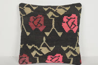 Freedom Kilim Rug Pillow D02307 Cool Moroccan Pastel Native