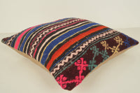 Turkish Pillow Pouf C01108 18x18 European Regular Berber