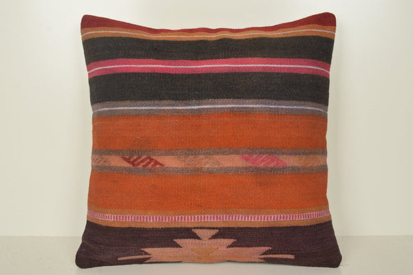 Kilim Rug Bird Pillow B02110 20x20 Antique Adornment Wholesale