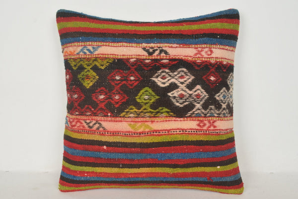 About Kilim Rugs Pillow B01511 20x20 Pastel Rug Ornament