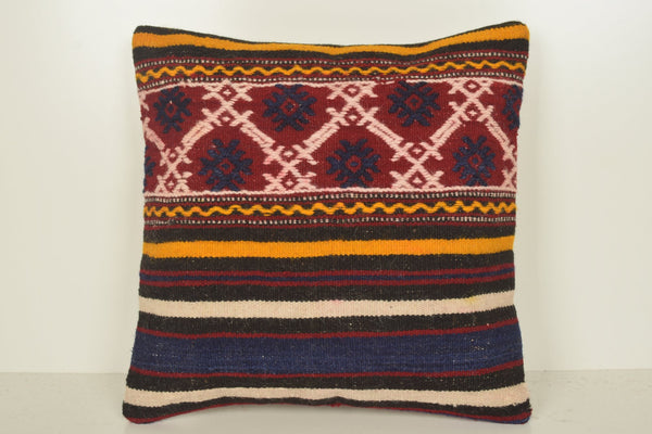 Turkish Rug Pillow Ikea C01120 18x18 Seat Strong Hand crafted