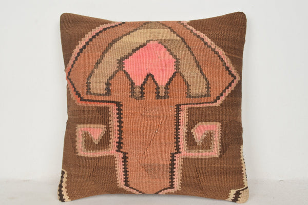 Southwestern Kilim Pillow C00622 18x18 Couch Low-priced Euro