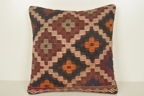 Turkish Bolster Pillows C01123 18x18 Society Fragment Mid century
