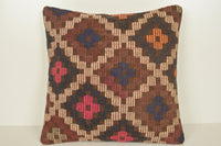 Kilim Pillows Turkey C01124 18x18 Historical Satisfactory Coastal