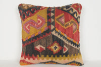 Kilim Rugs Bay Area Pillow D01326 16x16 Comfortable Homemade