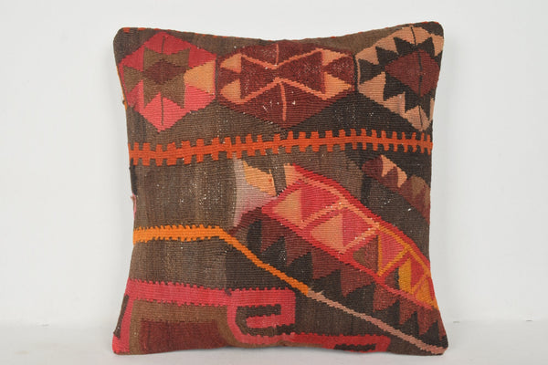 Ethnic Pillow Cases B00613 20x20 Geometric Rare Hand Embroidery