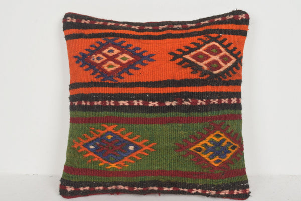 Light Kilim Rug Pillow D01931 Hotel Traditional Cover Hand Woven