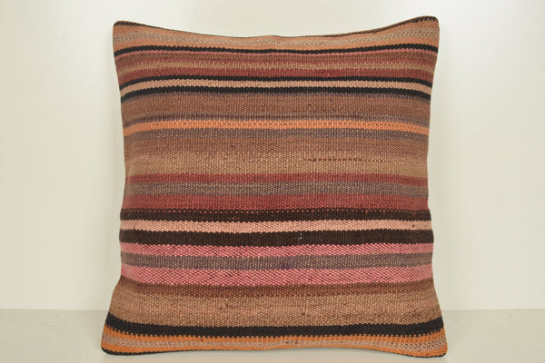 Zanzibar Kilim Cushion B01932 20x20 Middle East Regular Accessory