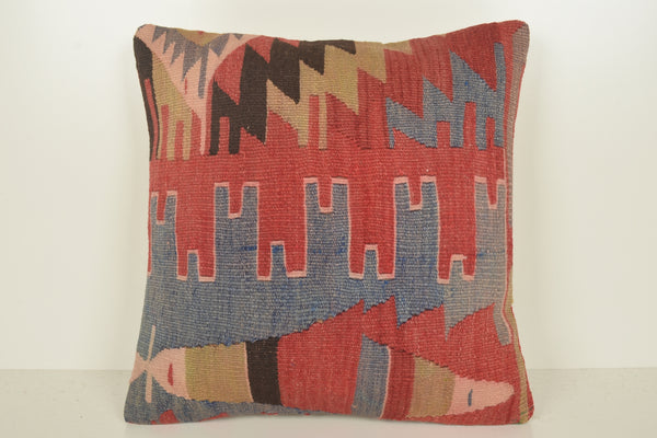 Wayfair Kilim Cushions C01534 18x18 Primary Traditional Wholesale Antique