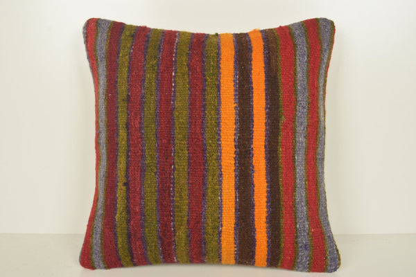 Antique Kilim Cushions C00935 18x18 Natural African Mexican